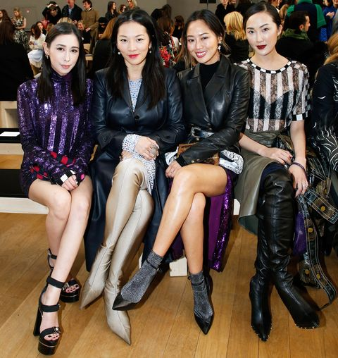 front row chriselle lim